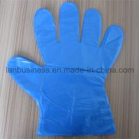 Wholesale Ly Disposable Blue PE Gloves from china suppliers