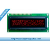 Wholesale STN Basic Character LCD Display 16x2 , Red on Black 3.3V display With ST7066 controller from china suppliers