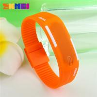 Wholesale Unisex Comfortable Led Digital Sport Watch Silicone Strap With Japan Battery from china suppliers