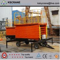 Wholesale 300kg Traveling Hydraulic Scissor Lift Platform from china suppliers