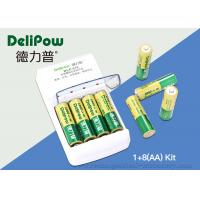 Wholesale Nimh 8 AA 1000mAh Rechargeable Battery Kit With Aa Aaa Battery Charger from china suppliers