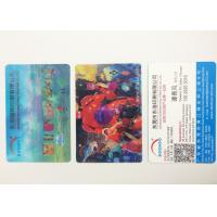 Wholesale Flip Effect  PP / PET 3D Lenticular Business Cards With Two Sides Printing from china suppliers