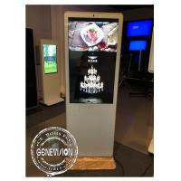 Quality Ready Stock 43inch Discount Slim Advertising Standee AUO Screen 400nits Kiosk Digital Signage Remote Managing with Wifi for sale