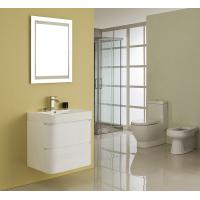 Wholesale Single Ceramic Basin Rectangle Sink Vanity Hanged White Flush Color With Mirror from china suppliers