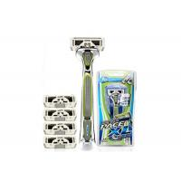 Wholesale Stylized Rubber Grip 6 Blades men ' s razors SXA5000 with Sculpting Trimmer from china suppliers