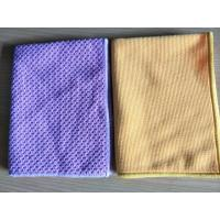 Wholesale Big Pearl Purple Hand Microfiber Kitchen Towels 40*40cm 350gsm from china suppliers