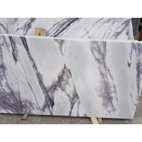 Quality Living Room Stone Slab Countertop Calacatta Marble Worktop Crystal White for sale