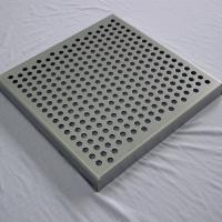 Wholesale Metal decoration perforated plate types of ceiling materials from china suppliers