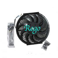 Wholesale 12 Volt Universal Automotive Radiator Cooling Fans 12 Inch Black Color from china suppliers