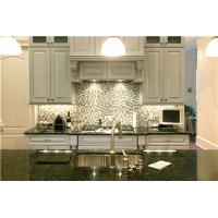 Quality Contemporary grey color solid wood Kitchen Cabinet for sale