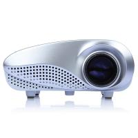 Buy cheap White Color Portable Led Projectors Led Full Hd Beamer 60 Lumens from wholesalers