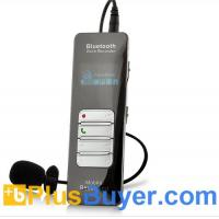 Wholesale Bluetooth One-button Voice and Call Recorder for Cell Phones (1 Inch OLED Screen, 8GB) from china suppliers