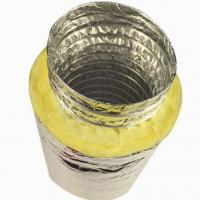Quality Insulated Flexible Duct With Fberglass Wool for sale