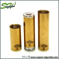 Wholesale Brass Tree of life mod 26650 Mechanical Mod With Adjustable Positive Pin from china suppliers