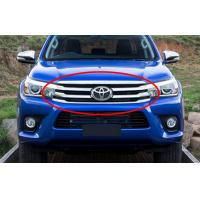 Wholesale Toyota New Hilux Revo 2015 2016 OEM Spare Parts Front Grille Chromed And Black from china suppliers