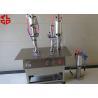 Buy cheap Semi Automatic Aerosol Spray Paint Filling Machine Pneumatic Power from wholesalers