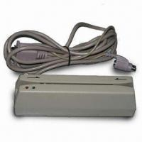 Wholesale 1/2/3 Track Magnetic Stripe Card Readers, Can Read Hi-co/Lo-co Through Com Port or USB Interface from china suppliers