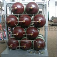 Quality 34CrMo Seamless Cascade CNG Storage Tanks / Natural Gas Cylinder for sale