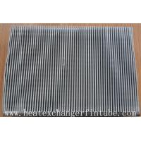 Wholesale Continous Piece Single Row Flat Fin Tube , Fin Per 1 Meter 250 Or 333 from china suppliers