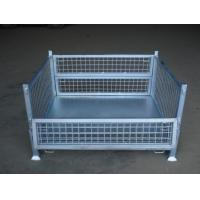 Wholesale galavanized wire mesh metal cage can collapsible from china suppliers