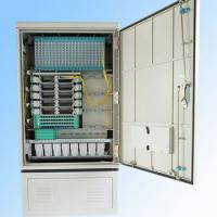 Wholesale 288fo Street Fiber Optic Cabinet Outdoor , Fiber Optic Splice Closure Cross Connection from china suppliers
