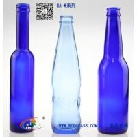Wholesale blue glass beer bottle from china suppliers