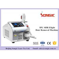 Quality SHR IPL Hair Removal Machine , Vascular & Pigmentatin Removal Machine for sale