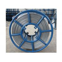 Buy cheap 12 Strands Antitwisting Galvanized Hexagonal Wire Rope for laying and stringing conductors and cables from wholesalers