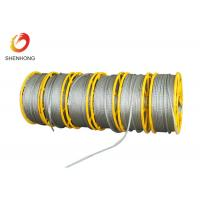Wholesale 12 Strands Anti Twisting Steel Wire Rope , Galvanized Hexagonal Wire Rope Wire Pilot Rope from china suppliers