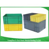 Wholesale PP Plastic Logistic Euro Stacking Containers For Food Clothes Auto Medical 21.2L from china suppliers