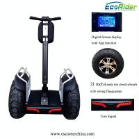 Wholesale E8-2 4000w Double Battery Two Wheels Electric Chariot Scooter With 21 Inch Tire from china suppliers