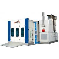 Quality Car Baking Auto Spray Booths Anti-Flame Embossed Steel Structural WD-905 for sale