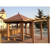 Wholesale Waterproof WPC Construction , Weather-resist WPC Pergola For Outdoor Construction from china suppliers