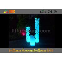 Wholesale Polyethylene LED Column for Wedding LED Pillars By Wireless Remote Control from china suppliers