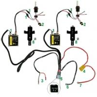 Wholesale Automobile Headlamp Booster H4 Wiring Harness from china suppliers