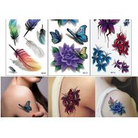Wholesale Body Art Temporary Tattoo Sticker Girl Decoration Butterfly Fake Tattoo from china suppliers