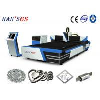 Wholesale 1000W / 1500W / 2000W Metal Fiber Laser Cutting Machine 1000W With Sevor Motor from china suppliers