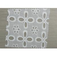 Wholesale Custom Decorative Elastic Eyelet Gathered Lace Trim Embroidery Lace Fabric from china suppliers