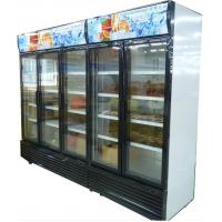 Wholesale Bottom Mount Glass Door Freezer , Automatic Defrost Glass PVC Door Frame from china suppliers