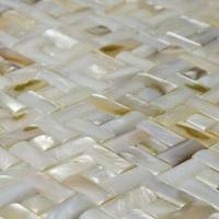 Wholesale Pearl Mosaic, Made with Natural Shell/Joints/No Joints Can be Offered Based on Clients' Need from china suppliers
