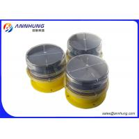 Wholesale DC3.7V Solar Airport Lighting / Portable Runway Lights Monocrystalline Silicon from china suppliers
