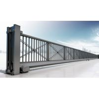 Wholesale Motorized Automatic Iron Cantilever Sliding Gate With Remote For Industrial from china suppliers