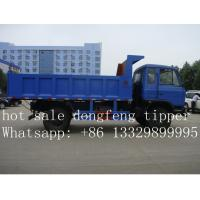 Wholesale dongfeng 145 10ton dump truck for sale, hot sale export model dongfeng LHD 170HP diesel dump tipper truck for sale from china suppliers