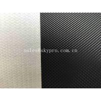 Wholesale 1.6mm Black Diamond Textured Light PVC Conveyor Belting Strong Load Capacity from china suppliers