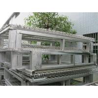 "Wholesale Racking System Metal Pallet Containers With Wire Mesh Storage Boxes 47"" * 39' from china suppliers"