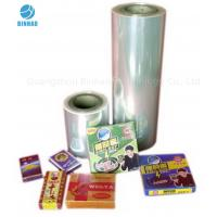 Wholesale Transparent Heat Sealing BOPP Packaging Film for Food Cosmetics Box from china suppliers