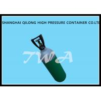 Quality 1L EU Certificate Aluminum Gas Cylinder Green Highly Corrosion Resistance for sale