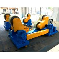 Wholesale 80 Ton PU Coated Conventional Welding Turning Rolls To Rotate Pressure Vessel from china suppliers