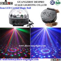 Wholesale DJ Equipment Lighting LED Crystal Magic Ball Professional Stage Lighting from china suppliers