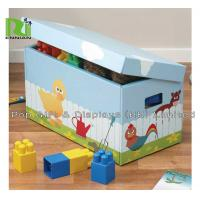 Wholesale Kids Corrugated Cardboard Furniture Foldable Cardboard Storage Boxes With Lids from china suppliers